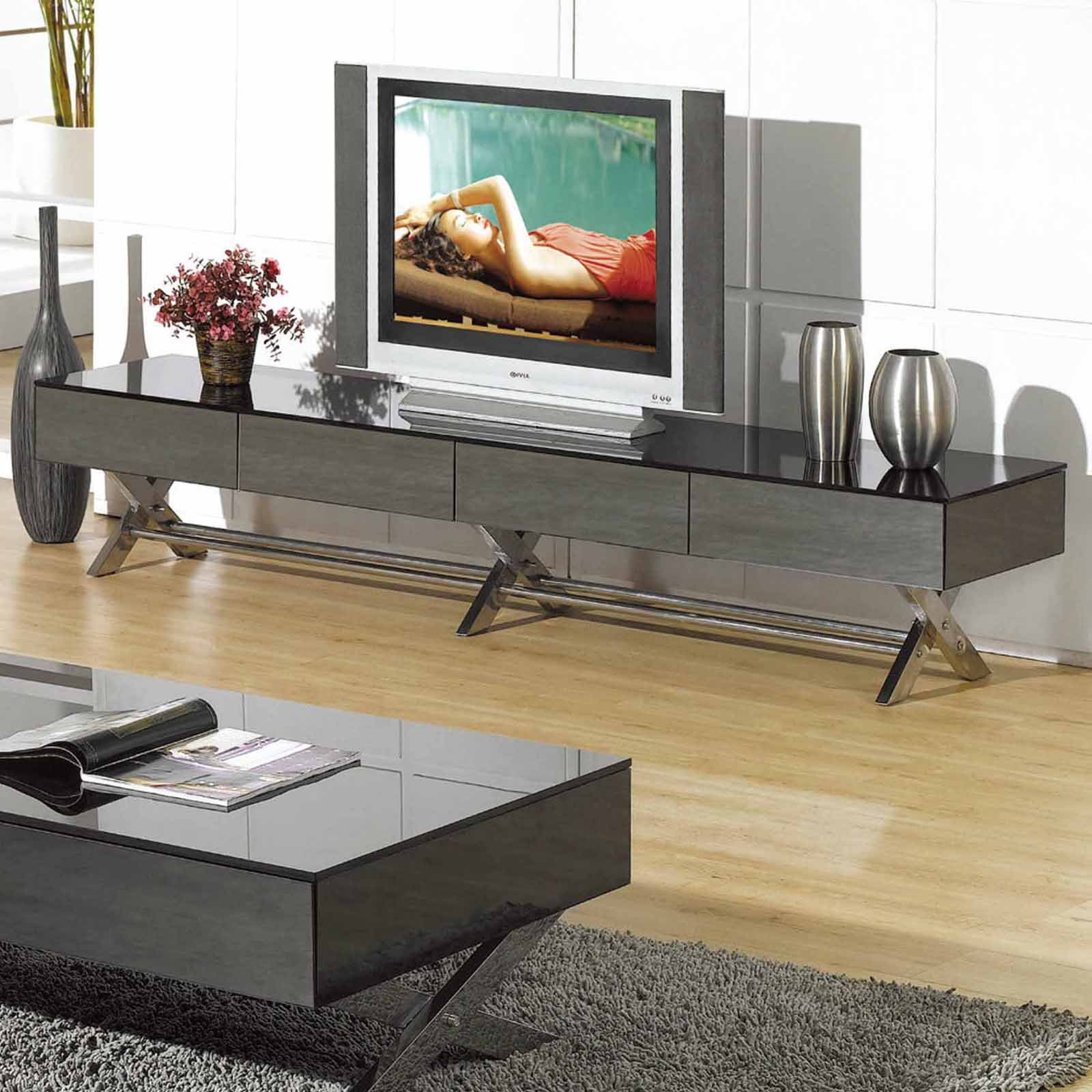 Creative Images International High Gloss Entertainment Unit - TV059