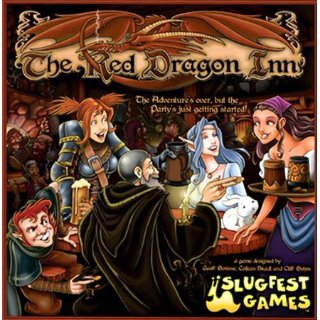 Red Dragon Inn Boxed Card Game