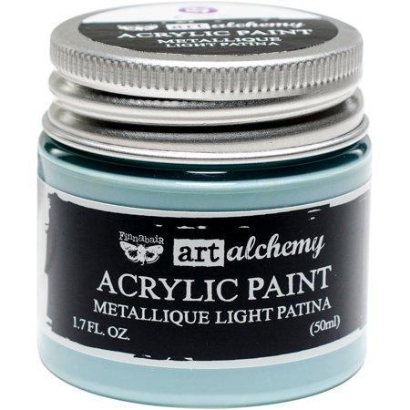 Finnabair Art Alchemy Acrylic Paint 1.7 Fluid Ounces-Metallique Light Patina - image 1 de 1