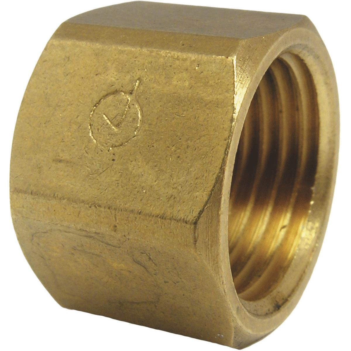 Lasco Red Brass Threaded Pipe Cap