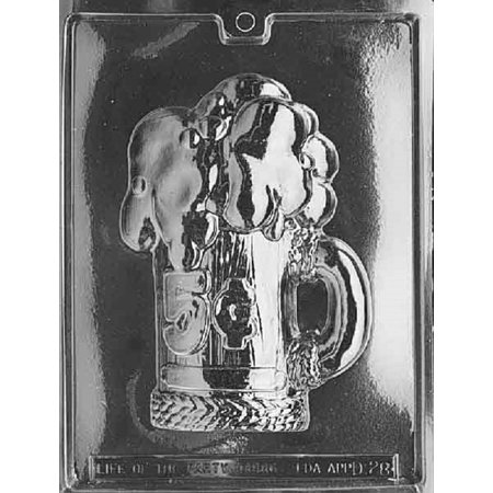 Chocolate Beer (Grandmama's Goodies D028 5 Cent Beer Mug Chocolate Candy Soap Mold with Exclusive Molding Instructions)