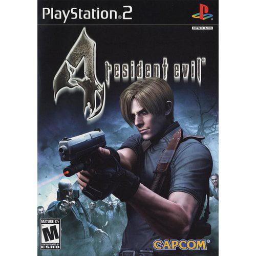Resident Evil 4 Capcom Playstation 2 Walmart Com Walmart Com