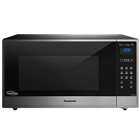 Panasonic 1.6 Cu. Ft. Built-In/Countertop Cyclonic Wave Microwave Oven with Inverter Technology, Stainless