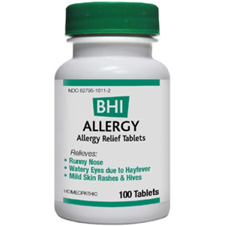 BHI Allergy For The Temporary Helps Runny Nose And Watery Eyes 100
