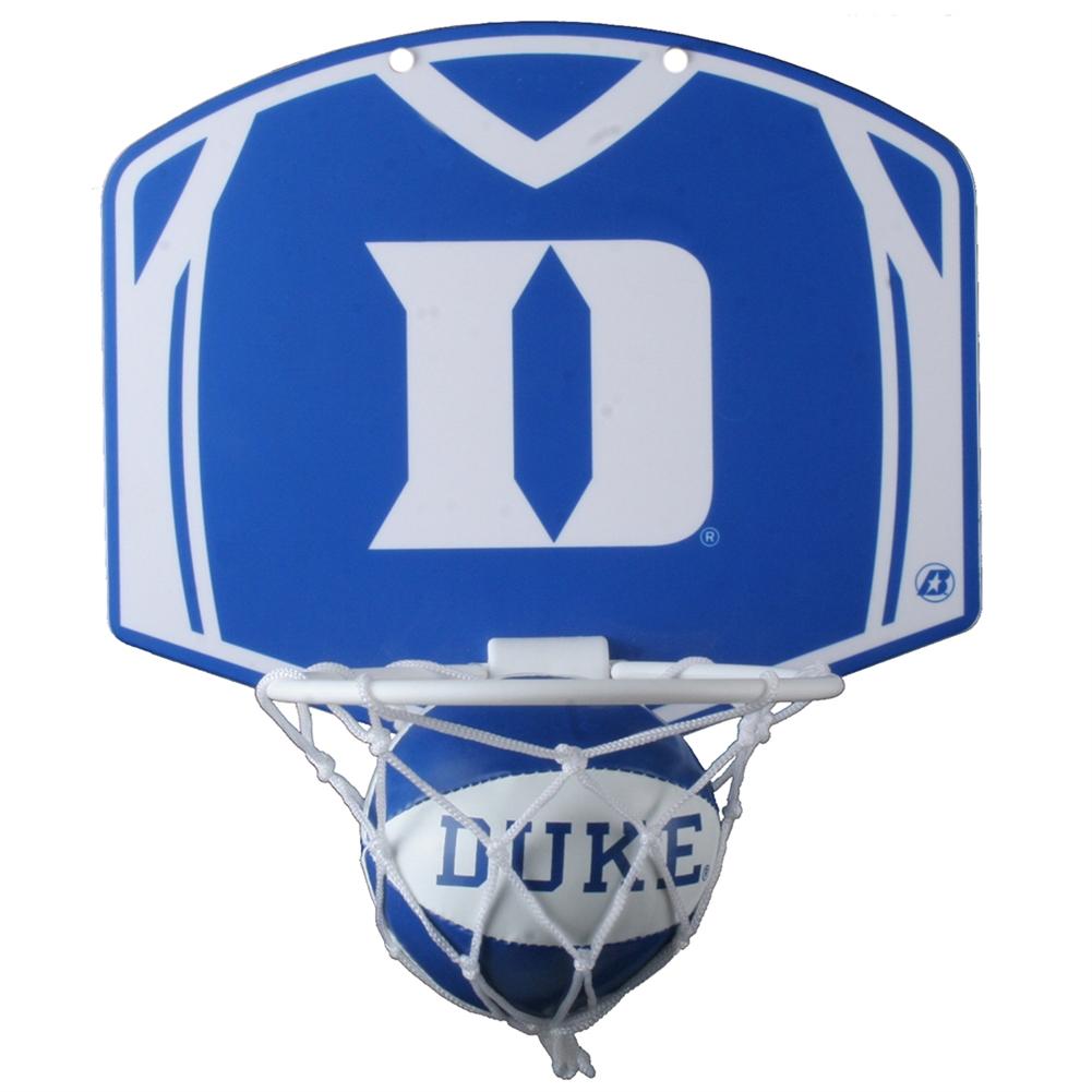 Duke Blue Devils Mini Basketball And Hoop Set