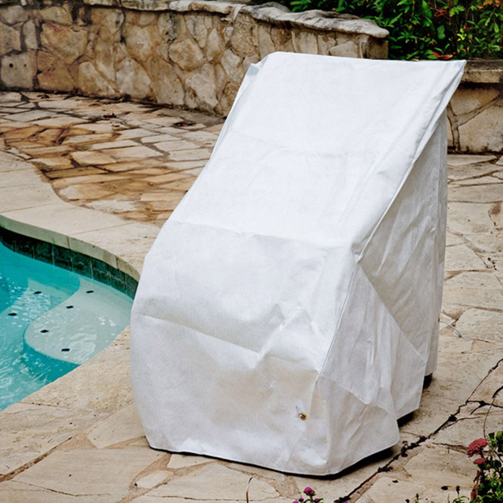 KoverRoos DuPont Tyvek White High Back Chair Cover by KoverRoos