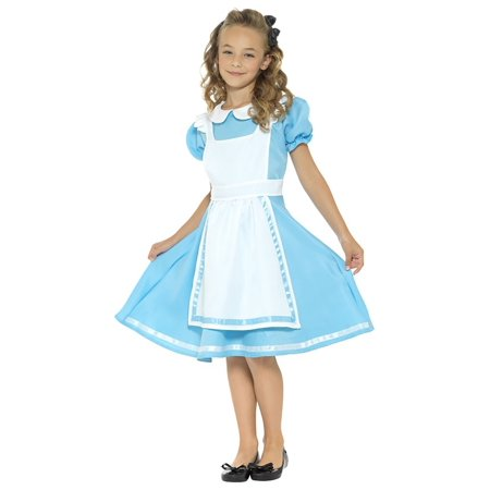 Girls Dreamland Alice Costume - Girls Wonderful Alice Costume