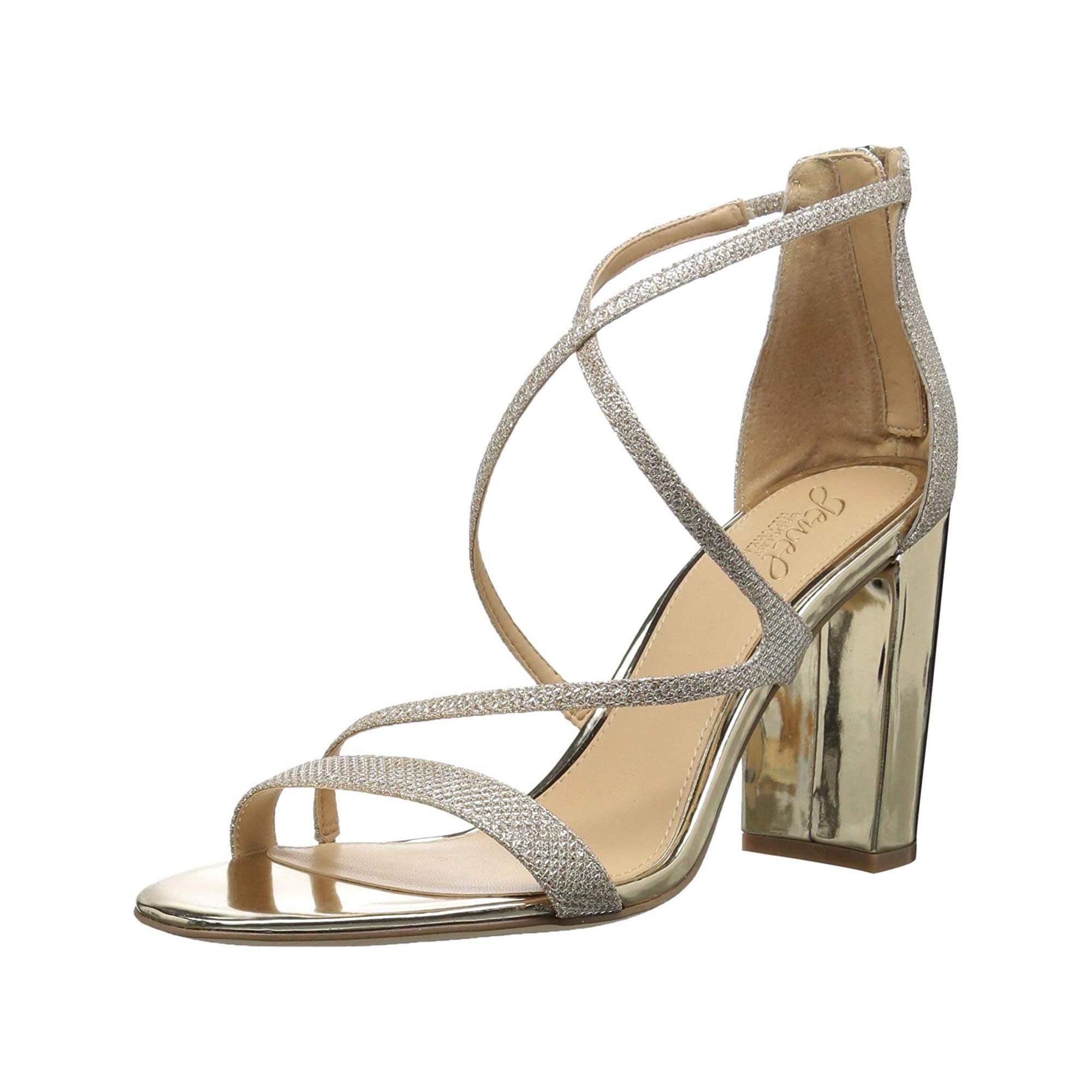 27bd2e716fe Badgley Mischka Jewel Women s Gale Heeled Sandal