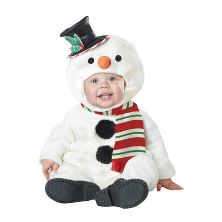 Frosty The Little Snowman Infant Baby Toddler Christmas Costume Baby Snowman Infant Costume