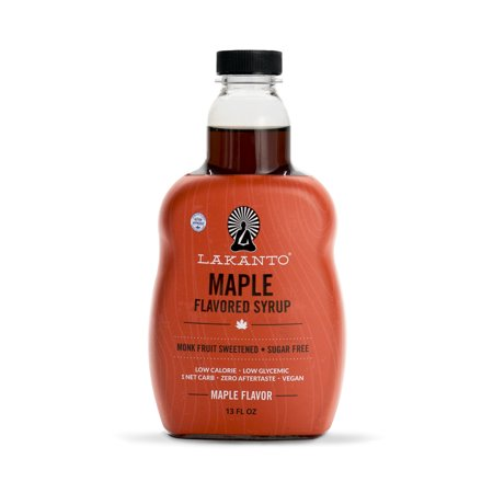 - Lakanto Monkfruit Maple Flavored Syrup, 13 OZ (368G)