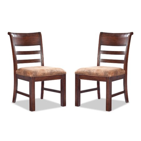Imagio Home by Intercon Bench Creek Ladderback Side Chair (Set of 2) by