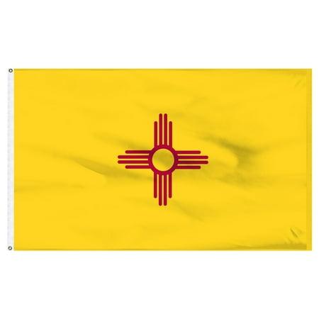 New Mexico Flag 3x5ft Nylon