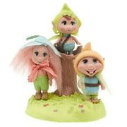 "Barbie Barbie Fairytopia Trolls - 3"" Troll Dolls - Peeble & Patter & Phred"
