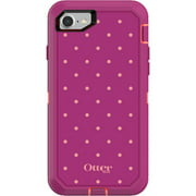 OtterBox Defender Series Case for iPhone 8 and iPhone 7, Coral Dot