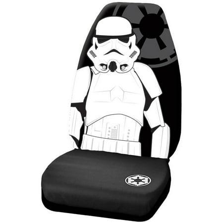 Star Wars Stormtrooper High Back Seat Cover](Star Wars Seal)