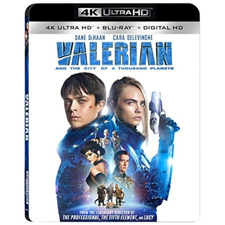 Valerian and the City of a Thousand Planets (4K Ultra HD + Blu-ray + Digital HD)