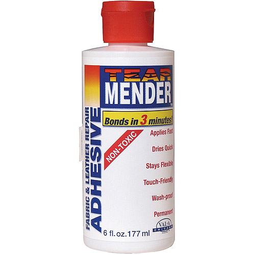 Tear Mender Bish's 6-Ounce Original Tear Mender Instant Fabric and Leather Adhesive