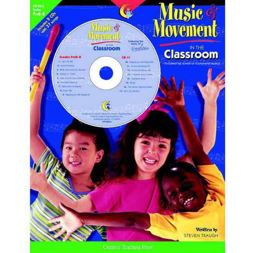 Creative Teaching Press Fun Music and Movement Classroom Book with CD 084714