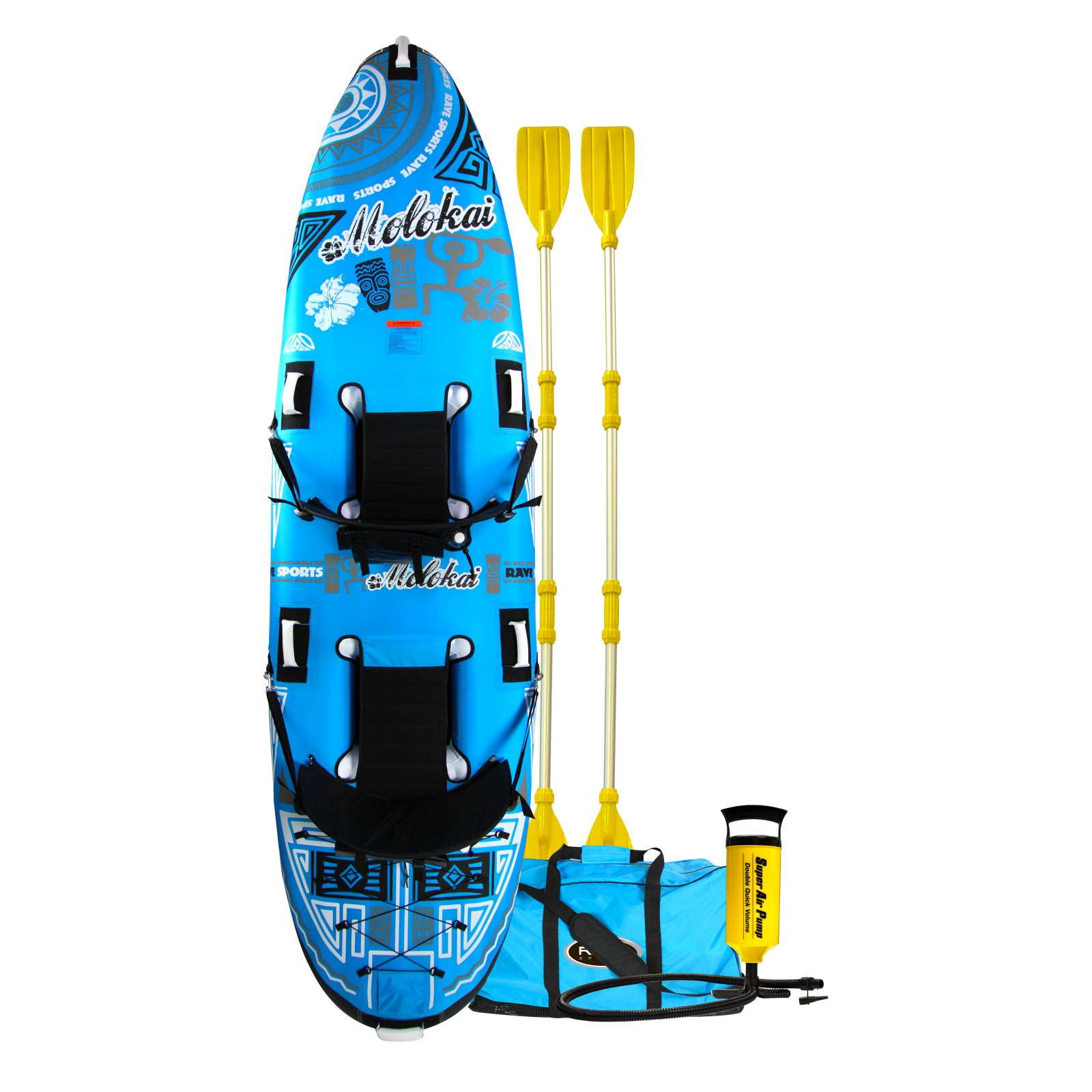 Rave Sports Molokai 2 Person Inflatable Kayak by Rave Sports