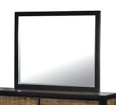 Hamberg Transitional Style Mirror, Black