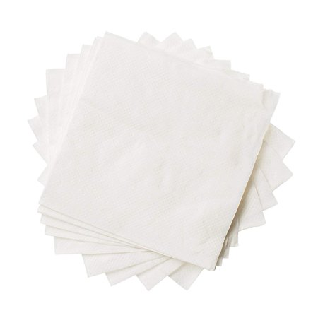 1-Ply Folded Paper Towels For Cocktails, Wine, Appetizers, Water Absorbent For Parties, Meetings, Home Use, Disposable And Convenient, And Elegant