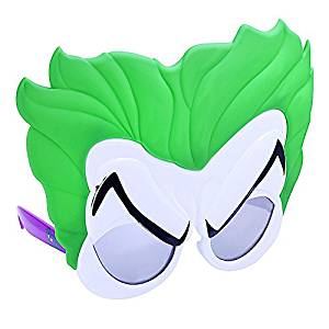 Party Costumes - Sun-Staches - DC Comics Joker Costume Mask New sg2869 - Joker Henchman Masks