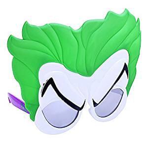 Party Costumes - Sun-Staches - DC Comics Joker Costume Mask New sg2869](Dc Comics Halloween Masks)