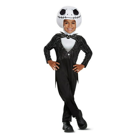 The Nightmare Before Christmas Jack Skellington Classic Toddler Costume (Sally The Nightmare Before Christmas Costume)