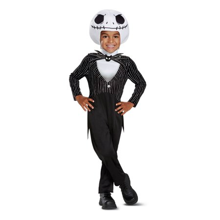 The Nightmare Before Christmas Jack Skellington Classic Toddler Costume (The Nightmare Before Christmas Costume)