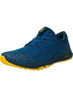 a012352b0c1532 Product Image Asics Men s Alpine Xt Turkish Tile   Ink Blue Lemon Curry  Ankle-High Mesh Running