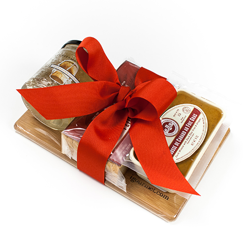 Mousse Foie Gras and Accompaniment Gift Board by