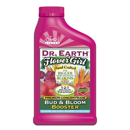 Dr. Earth Organic & Natural Flower Girl Bud & Bloom Booster, 24 oz Concentrate
