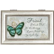 Carson Home Accents Your Friendship Decorative Box