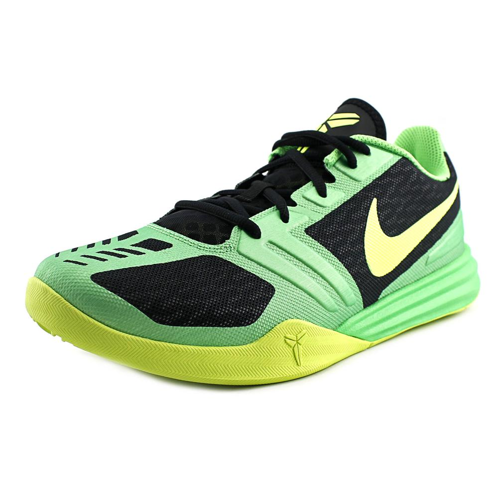 Nike Kobe Mentality Men  Round Toe Synthetic Green Basket...