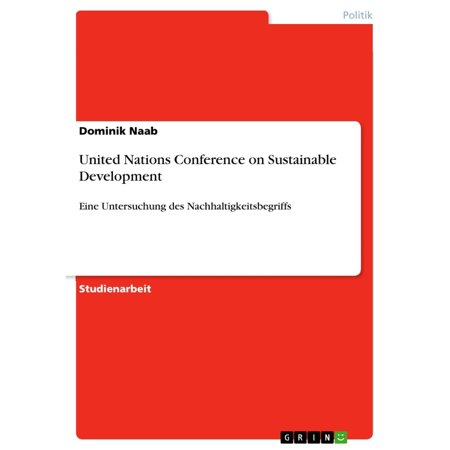 United Nations Conference on Sustainable Development -