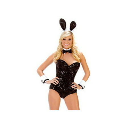 Starline, LLC. Party Bunny Costume T1023 Black