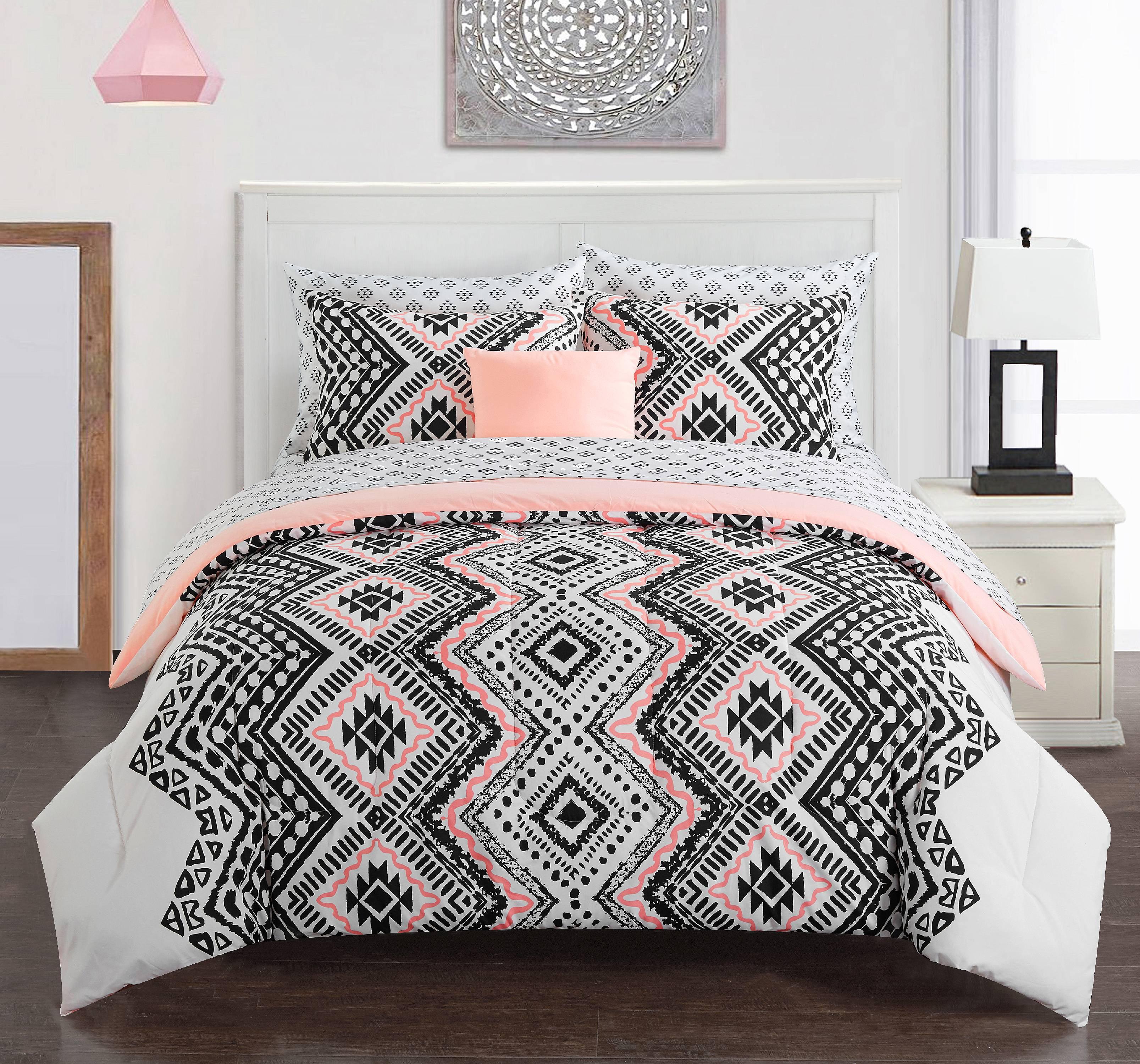 Mainstays Jamine Bed In A Bag Walmart Com Walmart Com