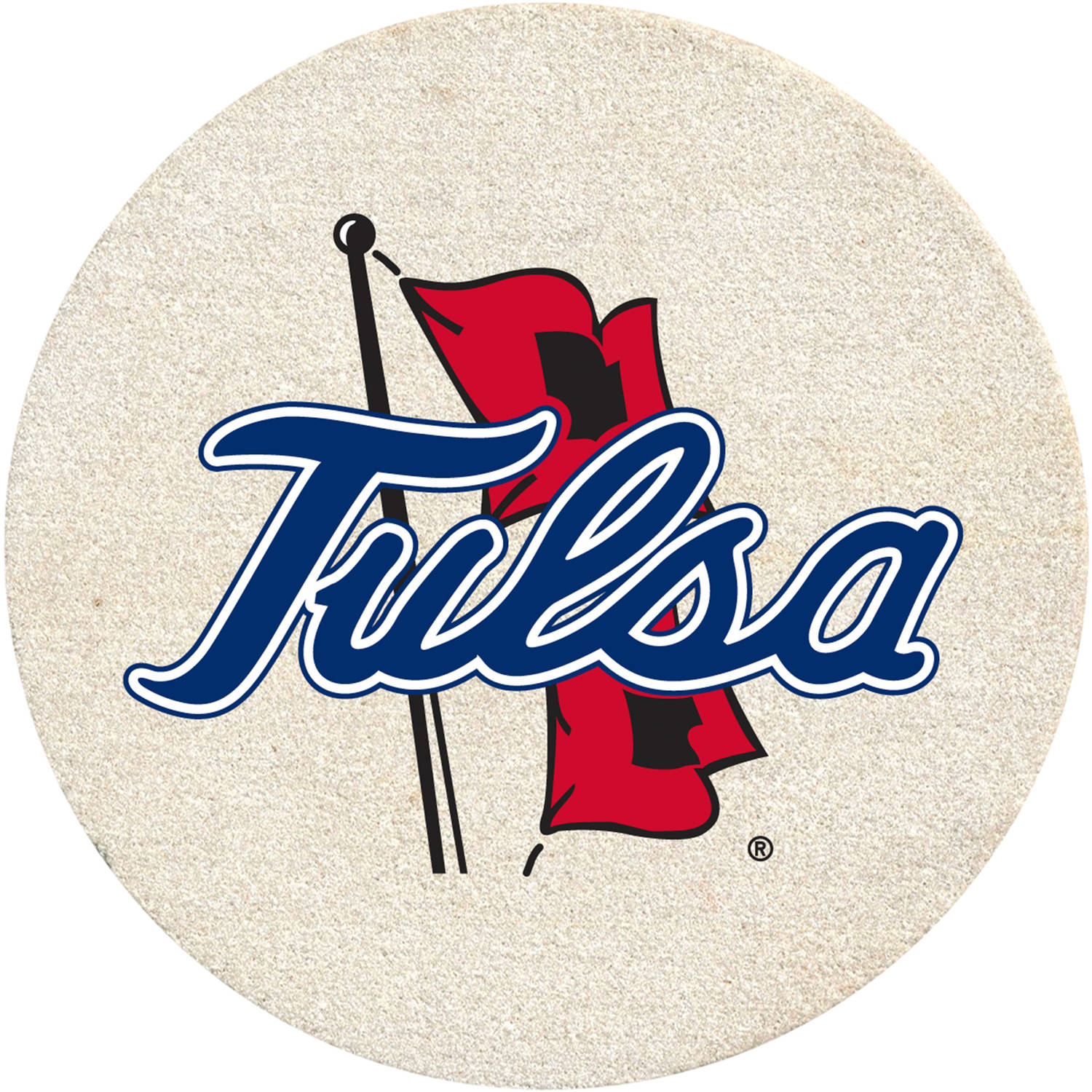 Thirstystone Drink Coaster Set, University of Tulsa