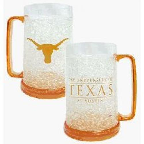Duckhouse NCAA Texas Longhorns Crystal Freezer Mug