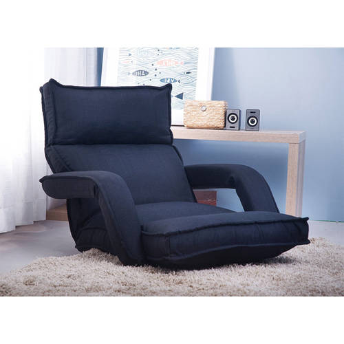 Merax Adjustable Fabric Folding Lazy Sofa Chair Floor Couch Sofa