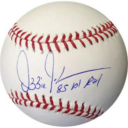 CTBL-A14976 Ozzie Guillen Signed Official Major League Baseball 85 AL Roy - Chicago Sox - White