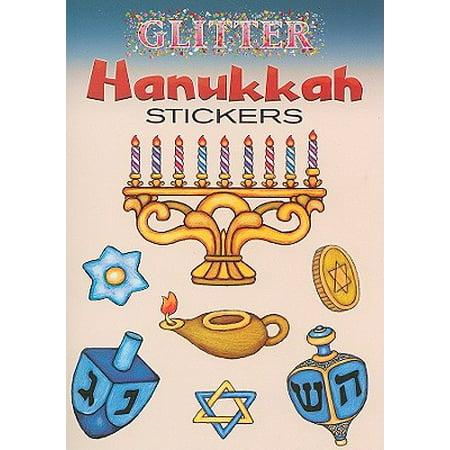Hanukkah Glitter (Glitter Hanukkah Stickers)