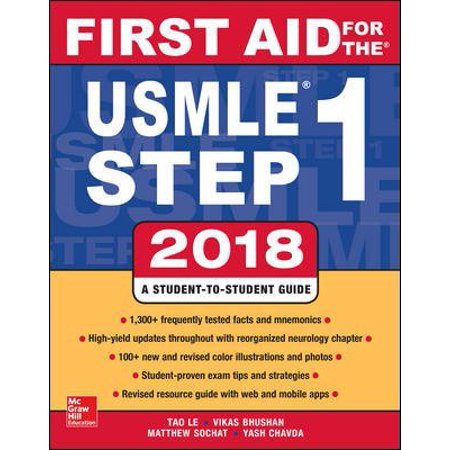 (First Aid for the USMLE Step 1 2018, 28th Edition)