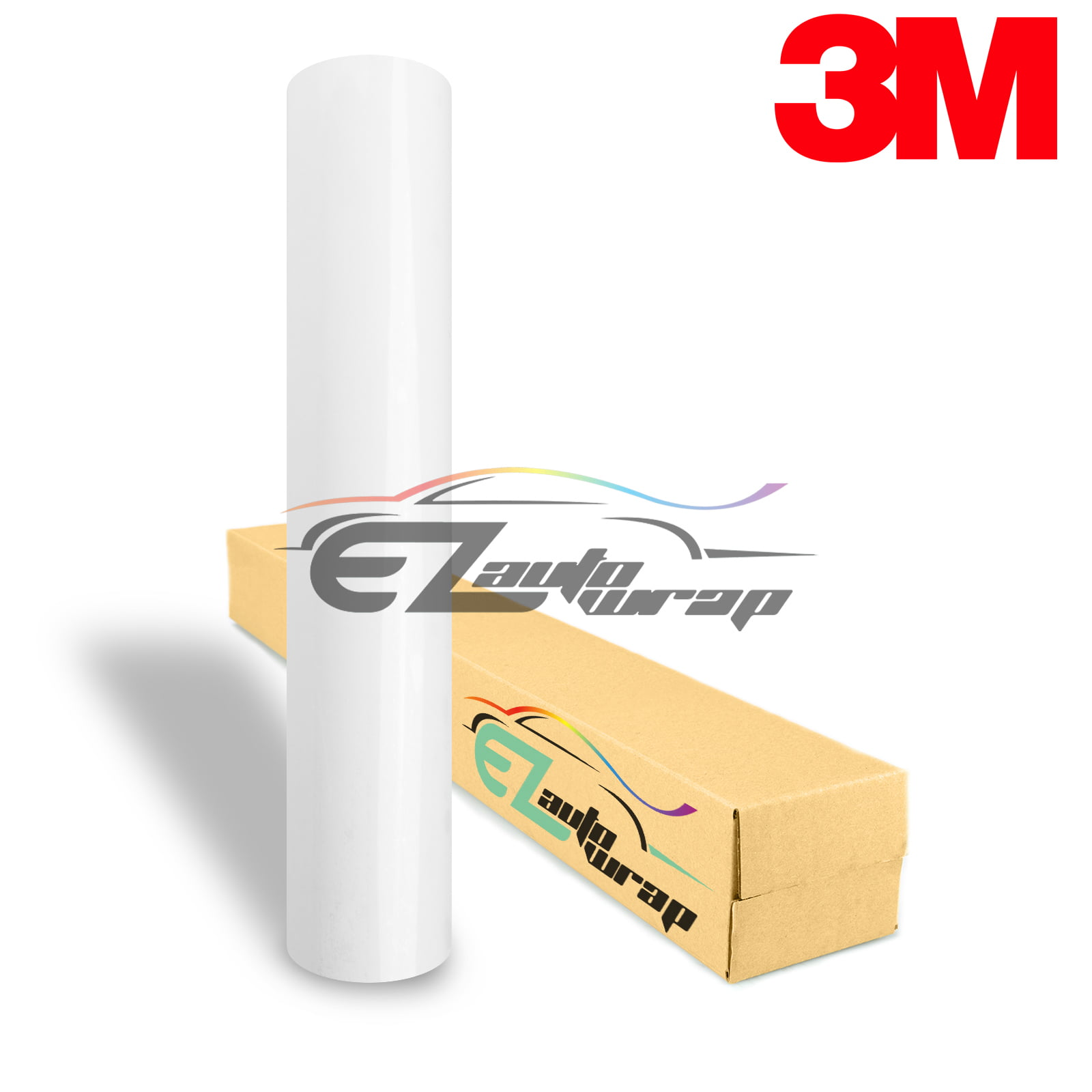 "*6/""x60/"" Genuine 3M Scotchgard Clear Paint Protection Bra Film Vinyl Wrap Decal"