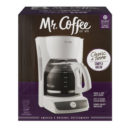 Mr. Coffee 12-Cup Switch Coffee Maker, CG12