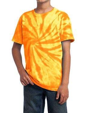 Mafoose Youth Tie-Dye Tee Gold X-Small