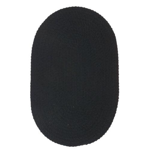 Softex - SX14 Black Braided Rug