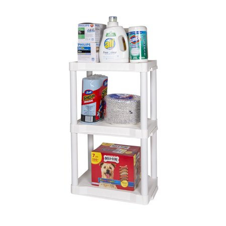 Plano 3- Tier Heavy Duty Plastic Storage