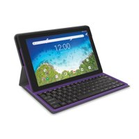 "RCA Viking Pro 10.1"" 2-in-1 Tablet with Folio Keyboard 32GB Android (8.1 Go Edition) - Charcoal - RCT6A03W13F1 C"