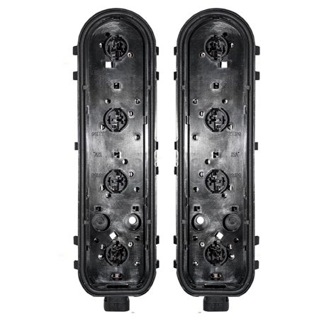 Driver and Passenger Taillights Circuit Boards Replacement for Chevrolet Oldsmobile Pontiac Van 12335926 -